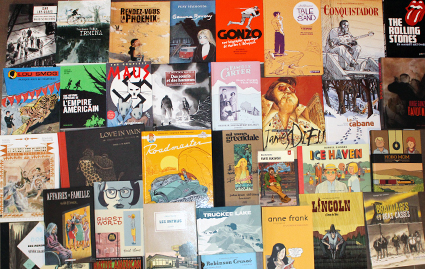 O. Carol chroniques littéraires BD pour adultes romans graphiques