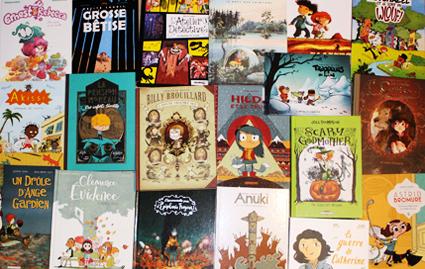 O. Carol chroniques littéraires BD bande dessinée jeunesse pour petits et grands enfants