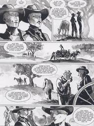 extrait Des Souris et des Hommes de Steinbeck adaptation BD de Bertola