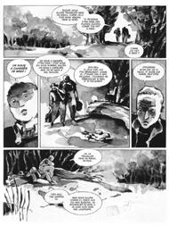 extrait Des Souris et des Hommes de Steinbeck adaptation BD par Bertola