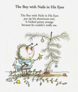 Time Burton La Triste fin du petit Enfant Huître, Oyster Boy petites histoires poèmes cruels littérature pour enfants