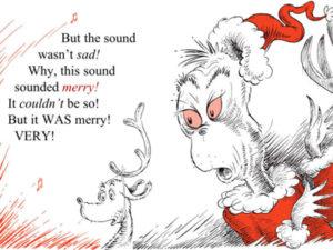 Comment le Grinch a volé Nël de Dr Seuss rimes poème littérature pour enfants classique