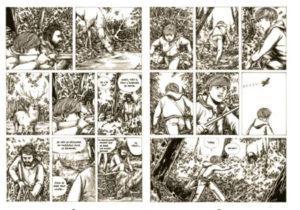 Sukkwan Island adaptation du roman de Van en BD roman graphique par Bienvenu