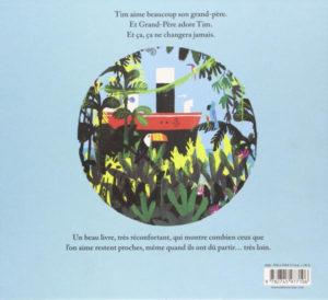 Capitaine Papay, 4ème de couverture Benji Davies O. Carol Milan livre pour enfants