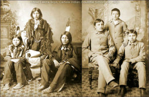 Carlisle Indian School assimilation lakota