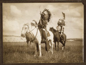 Sioux Chief by Edward S. Curtis The North American Indian collection