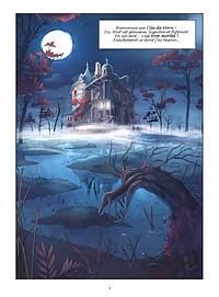 Sorceline Tome 1, première planche. BD jeunesse Glénat BD Vents d'Ouest. Chronique littéraire par O. Carol