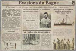 Article bagne pour enfants 1934 Belle-Ile-en-Mer