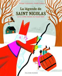 Couverture La légende de Saint Nicolas ou la terrible histoire du Grand Saloir