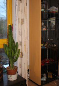 Atelier de Georges Van Linthout, sa vitrine, Lou Smog, maquettes et modèle réduits