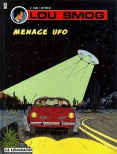 Lou Smog, Menace UFO de G. Van Linthout Couverture